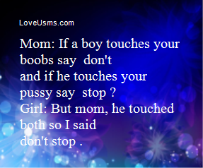 What to do if a boy touches your breast